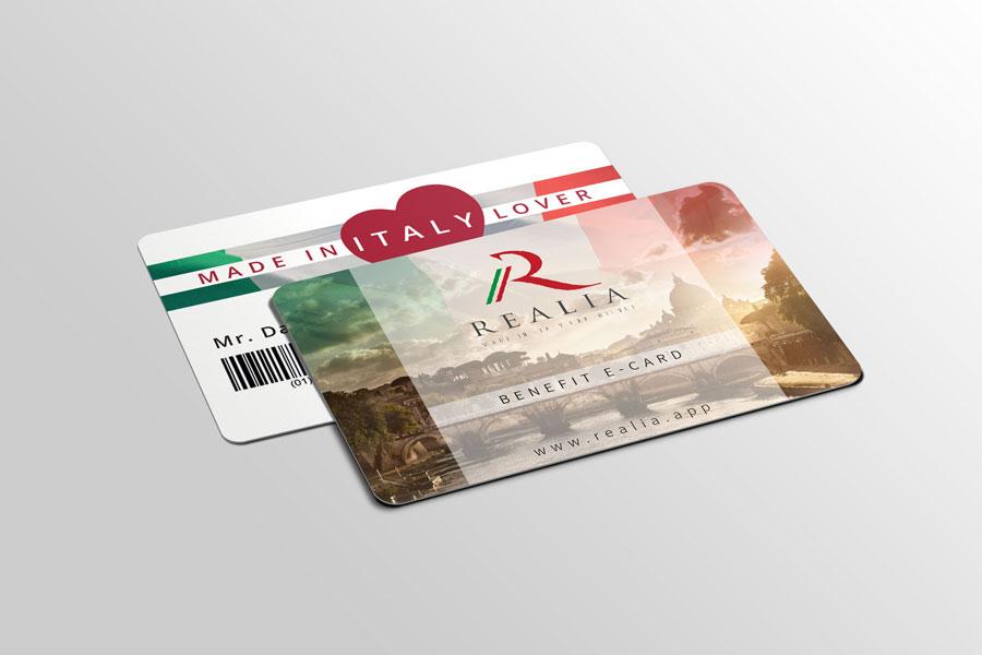 Realia e-Card Made in Italy Lover